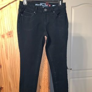 Unworn black jeans